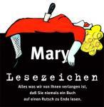 Lesezeichen Mary