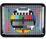 Tablett TV-Testbild