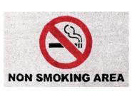Kokos-Fußmatte Non Smoking Area