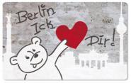 Frühstücksbrettchen Berlin ick liebe Dir