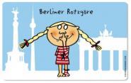 Frühstücksbrettchen Berliner Rotzgöre