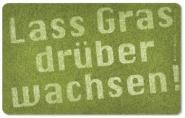 Frühstücksbrettchen Gras drüber wachsen