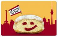 Frühstücksbrettchen Ick bin ein Berliner