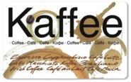 Frühstücksbrettchen Kaffee-Coffee-Café