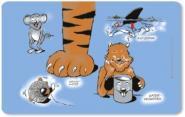 Frühstücksbrettchen Katzenjammer