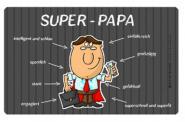 Frühstücksbrettchen Super-Papa