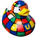 BUD-Quietscheente 80s Cube Duck