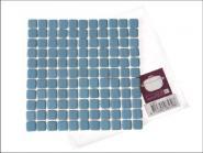Keramik-Untersetzer Mosaik blau