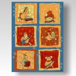 Kinderteppich Crazy Animals 170x230cm