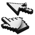 Pixel Mauszeiger Haftnotizen