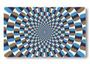 Frühstücksbrettchen Optische Täuschung