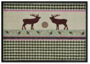 Easy-Clean Matte Country Deers
