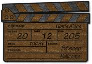 Fußmatte Filmklappe Home alone