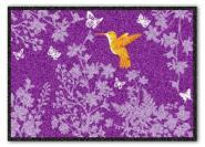Waschbare Komfortmatte Kolibri