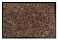 Sauberlauf-Fußmatte Superclean braun 60x90
