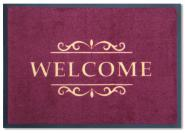 Easy-Clean Matte Welcome bordeaux