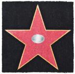 Kokos-Fußmatte Walk of Fame 60x60cm