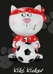 Katzen-Figur Kiki Kicker