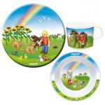 Kindergeschirr Playmobil Bauernhof
