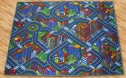 Straßenteppich Down Town 3D