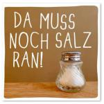 Motiv-Magnet Salz