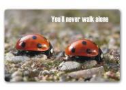 Das You´ll never walk alone-Brettchen