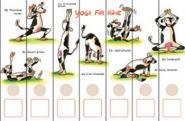 Ordnerrücken Yoga für Kühe