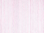 Perlenvorhang Drops pink