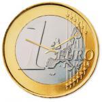 Wanduhr EURO