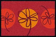 Waschbare Komfortmatte Fleurette
