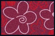 Waschbare Komfortmatte Red Valentine