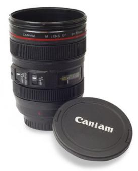 Kaffeebecher Camera Cup Zooom