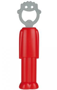Flaschenöffner Roter Mann