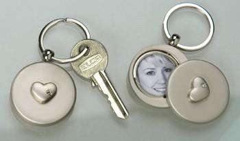 Schlüsselanhänger Foto-Clip