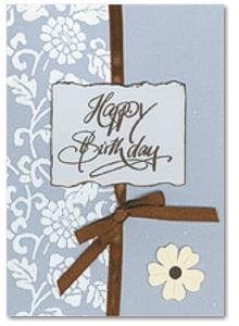 Karte Happy Birthday