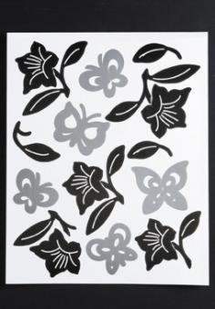 Wandaufkleber Flowers