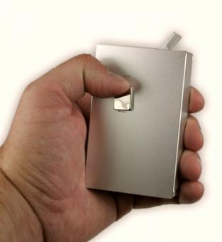 Zigarettenetui Alu