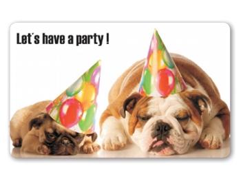 Frühstücksbrettchen Let´s have a party