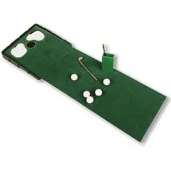 Golf-Set putting practise
