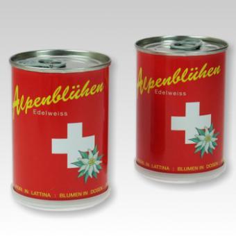 Edelweiss aus der Dose -Schweiz-