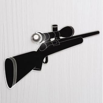 Spion-Aufkleber Eye Spy