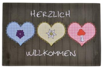 Gallery-Matte Herzlich willkommen