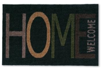 Fußmatte Home/Welcome black