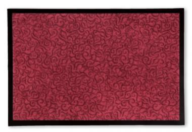 Sauberlauf-Fußmatte Superclean rot 60x90