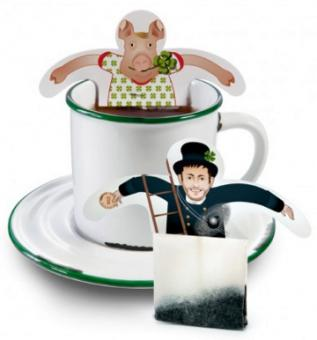 Grußkarte+Tee Good Luck