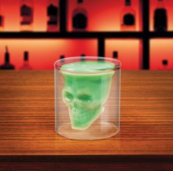Totenkopf-Glas Doomed