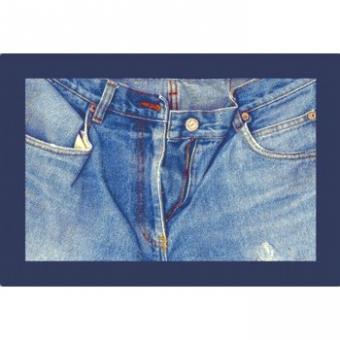 Teppich Jeans open 160x240