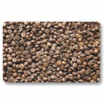 Frühstücksbrettchen Kaffeebohnen