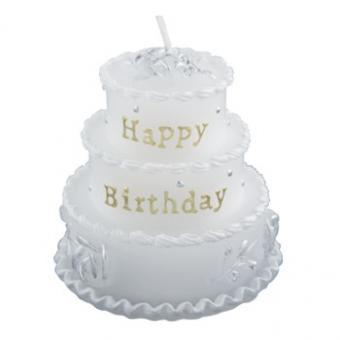 Mini-Kerze Happy Birthday