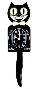 Kit-Cat Clock Classic schwarz